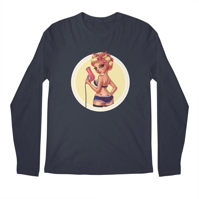 Alexis Dean Men's Longsleeve T-Shirt by Pinup Bombshells Artist Shop