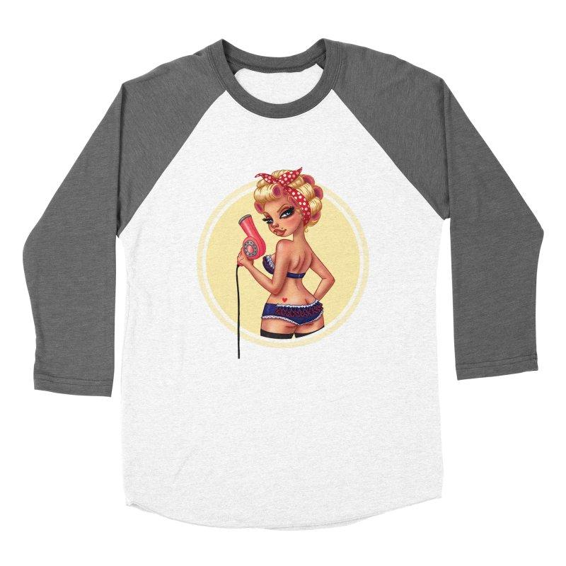 Alexis Dean Women's Baseball Triblend T-Shirt by Pinup Bombshells Artist Shop