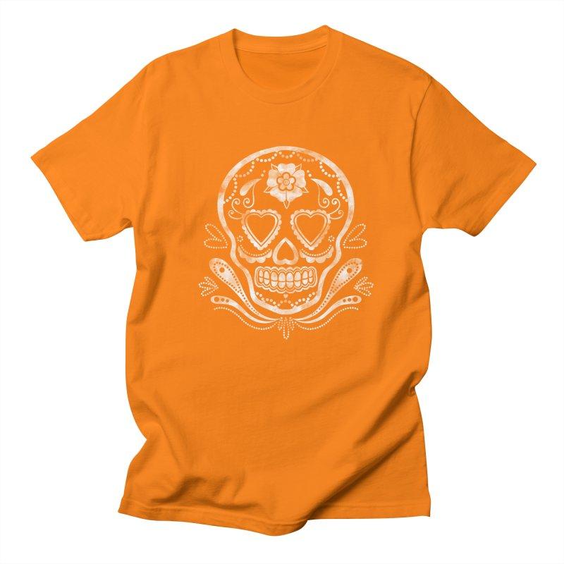 Sugar Skull Men's T-shirt by Pinup Bombshells Artist Shop