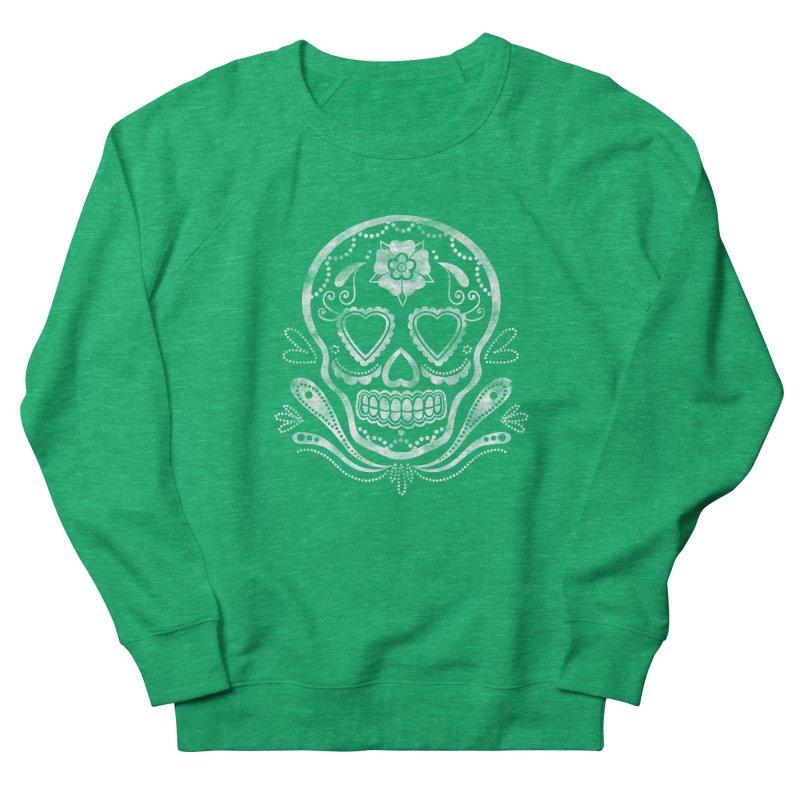 Sugar Skull Men's Sweatshirt by Pinup Bombshells Artist Shop