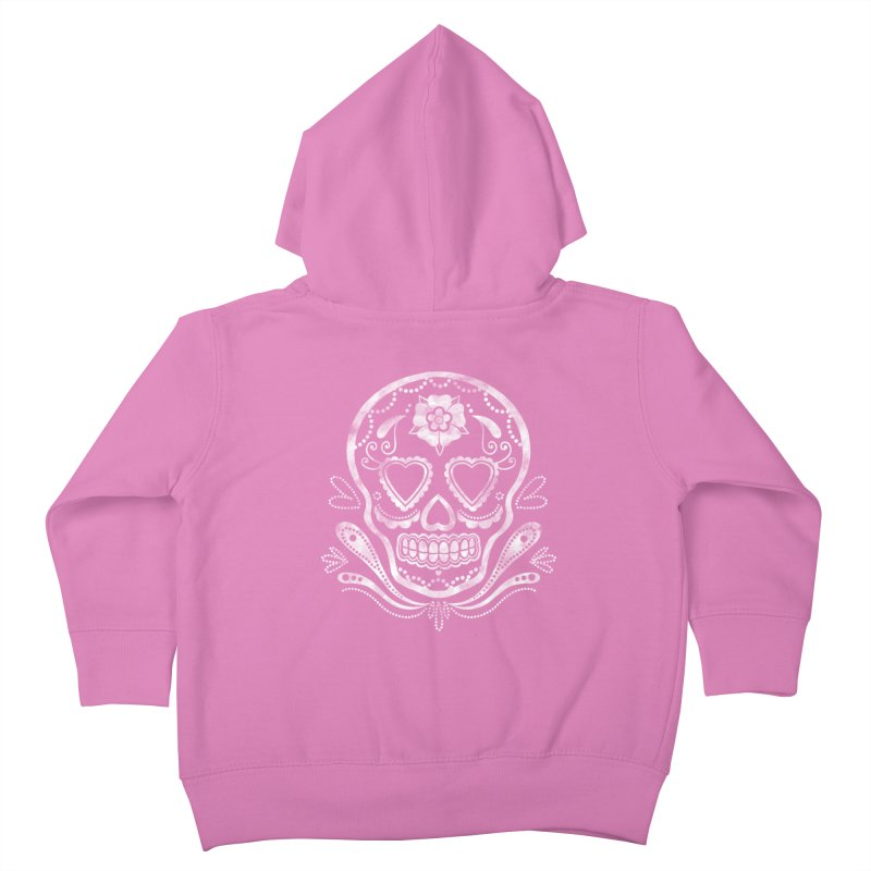 Sugar Skull Kids Toddler Zip-Up Hoody by Pinup Bombshells Artist Shop