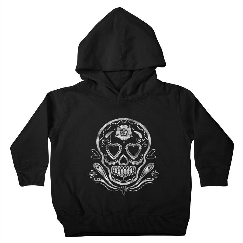 Sugar Skull Kids Toddler Pullover Hoody by Pinup Bombshells Artist Shop