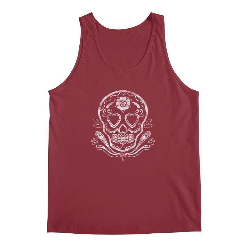 Sugar Skull Men's Tank by Pinup Bombshells Artist Shop