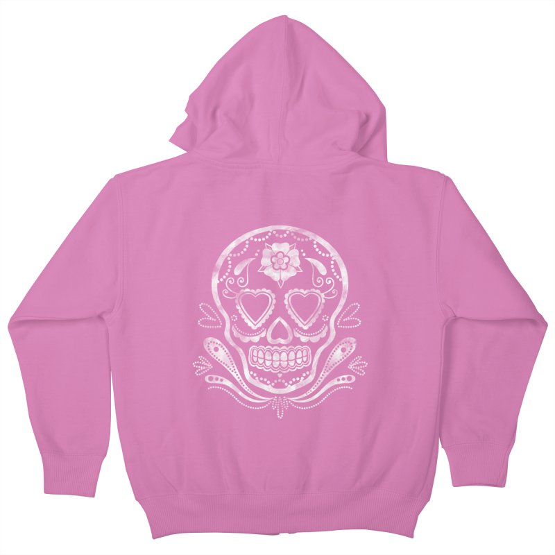 Sugar Skull Kids Zip-Up Hoody by Pinup Bombshells Artist Shop