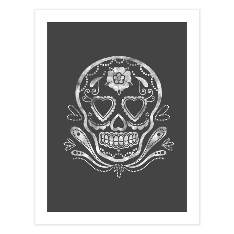 Sugar Skull Home Fine Art Print by Pinup Bombshells Artist Shop