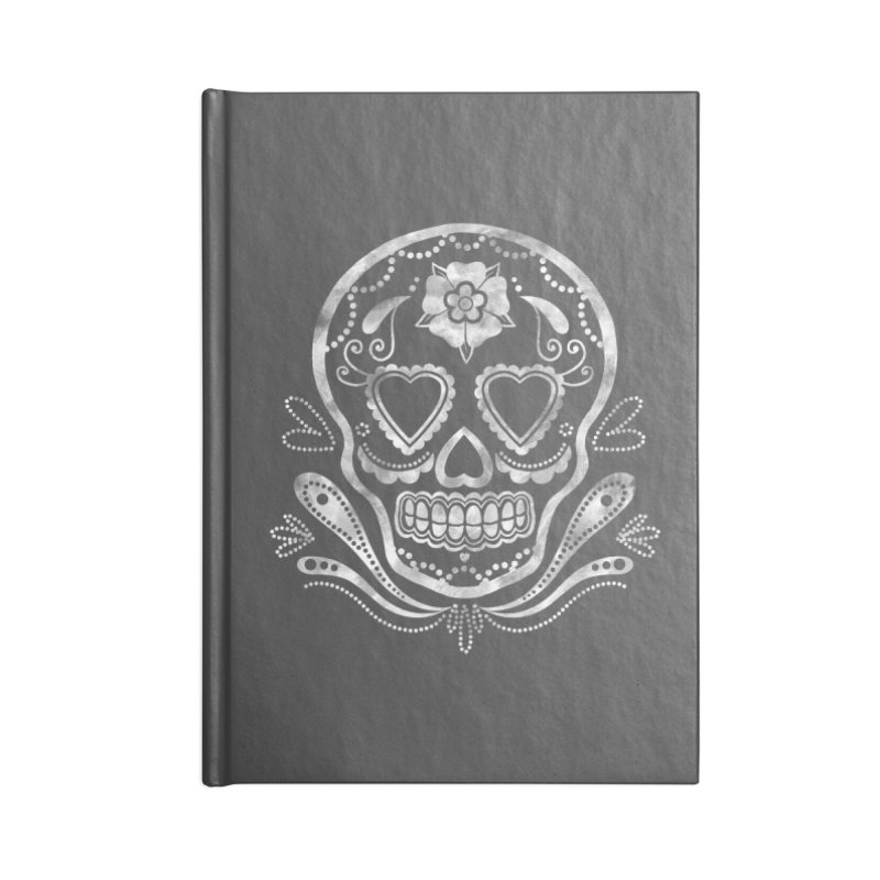 Sugar Skull Accessories Notebook by Pinup Bombshells Artist Shop