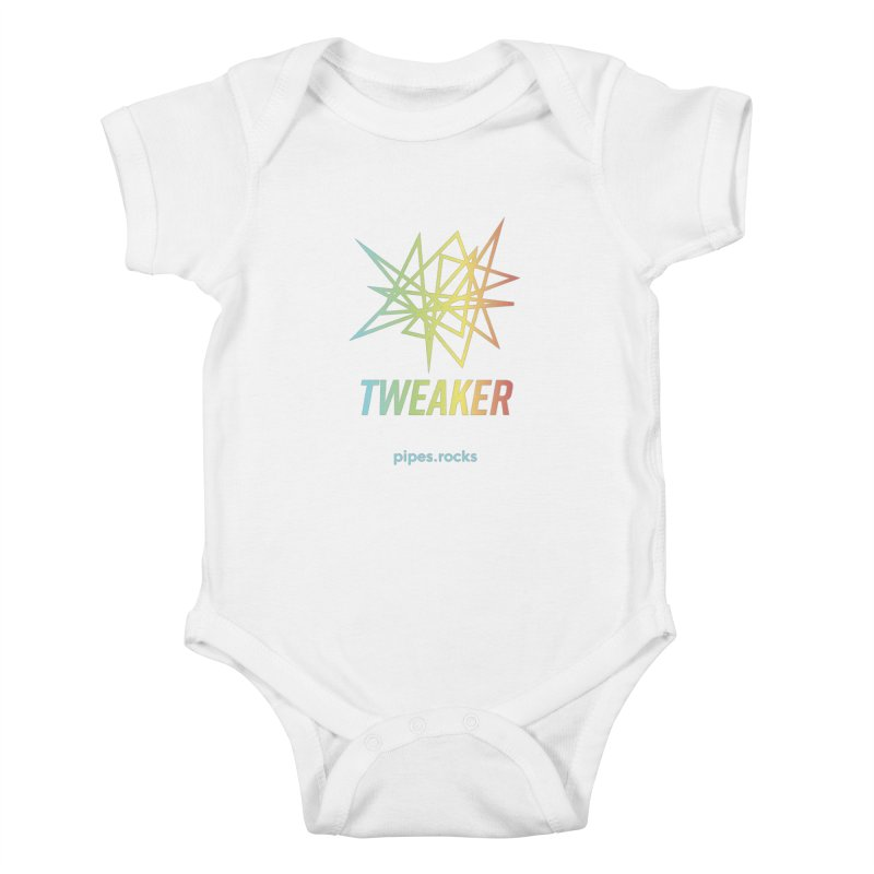 TWEAKER Kids Baby Bodysuit by pipes's Artist Shop