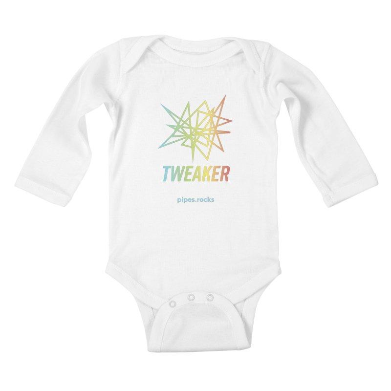TWEAKER Kids Baby Longsleeve Bodysuit by pipes's Artist Shop