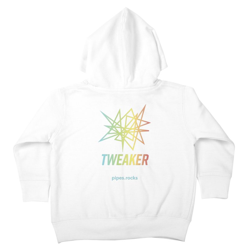 TWEAKER Kids Toddler Zip-Up Hoody by pipes's Artist Shop