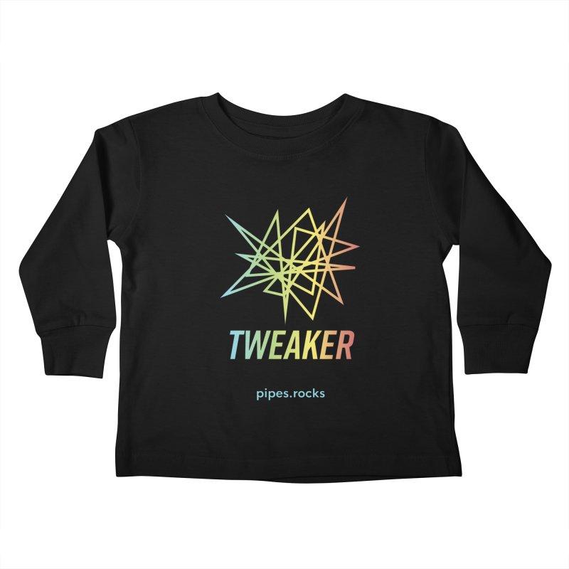 TWEAKER Kids Toddler Longsleeve T-Shirt by pipes's Artist Shop