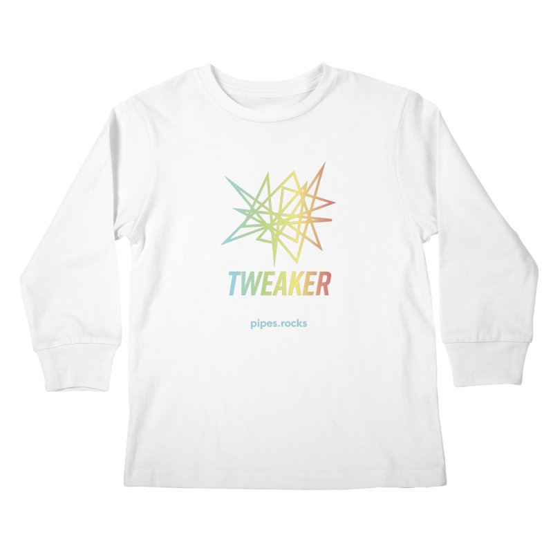 TWEAKER Kids Longsleeve T-Shirt by pipes's Artist Shop