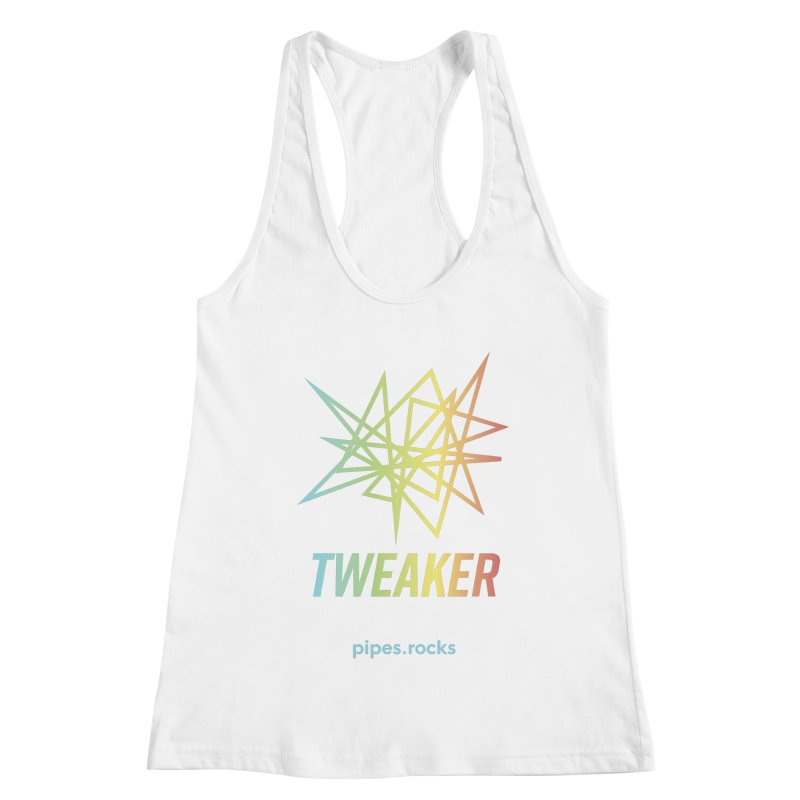 TWEAKER Women's Racerback Tank by pipes's Artist Shop