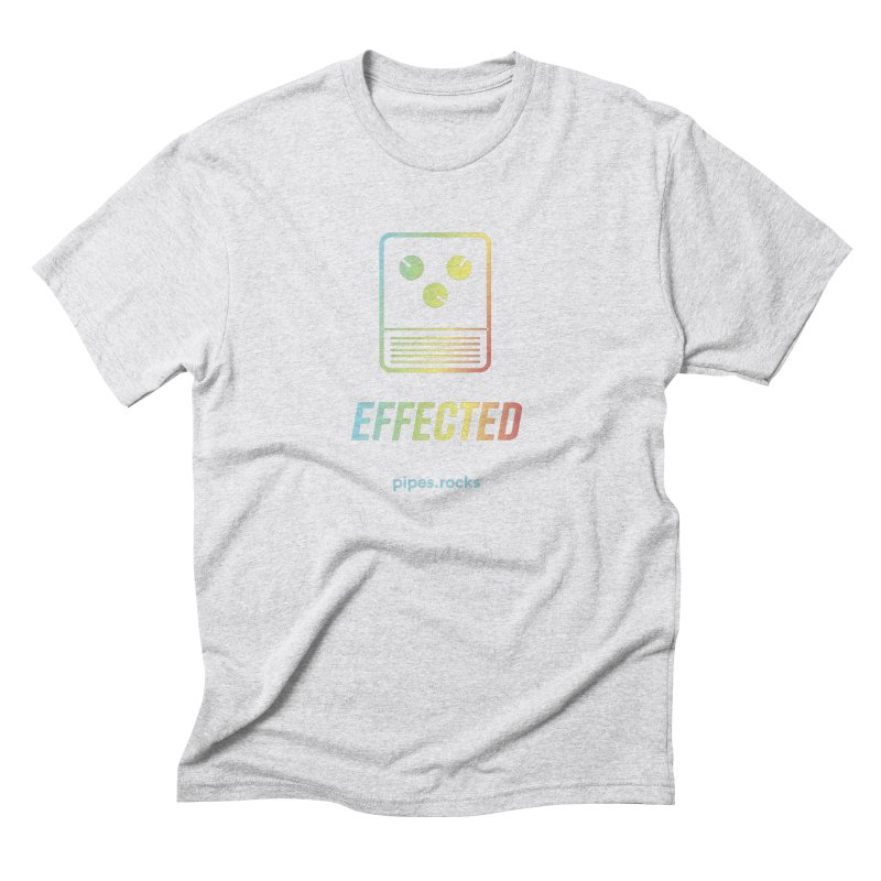 EFFECTED Men's Triblend T-Shirt by pipes's Artist Shop