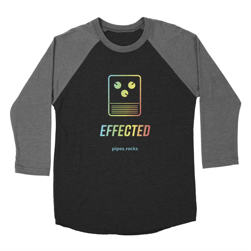 EFFECTED Women's Baseball Triblend Longsleeve T-Shirt by pipes's Artist Shop
