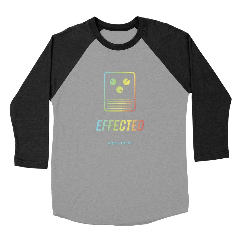 EFFECTED Women's Baseball Triblend Longsleeve T-Shirt by pipes's Artist Shop