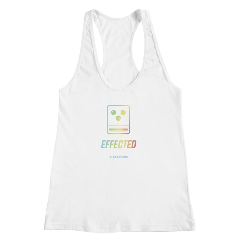 EFFECTED Women's Racerback Tank by pipes's Artist Shop