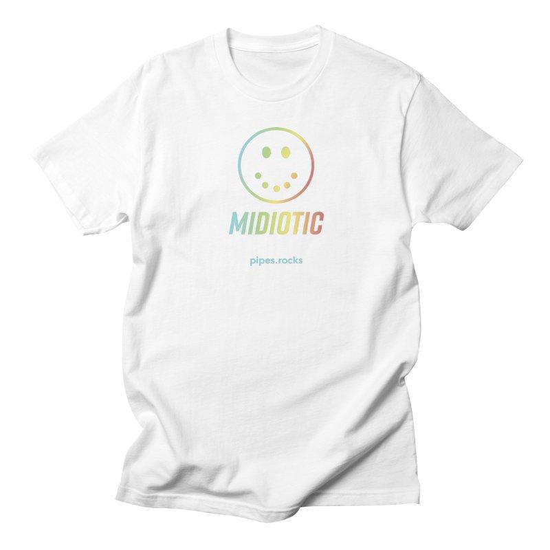MIDIOTIC Women's Regular Unisex T-Shirt by pipes's Artist Shop