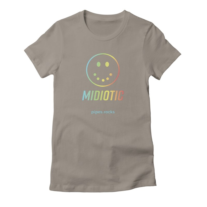 MIDIOTIC Women's T-Shirt by pipes's Artist Shop