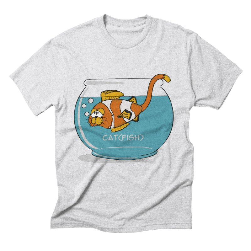 Cat(fish) Men's Triblend T-shirt by pir's Artist Shop