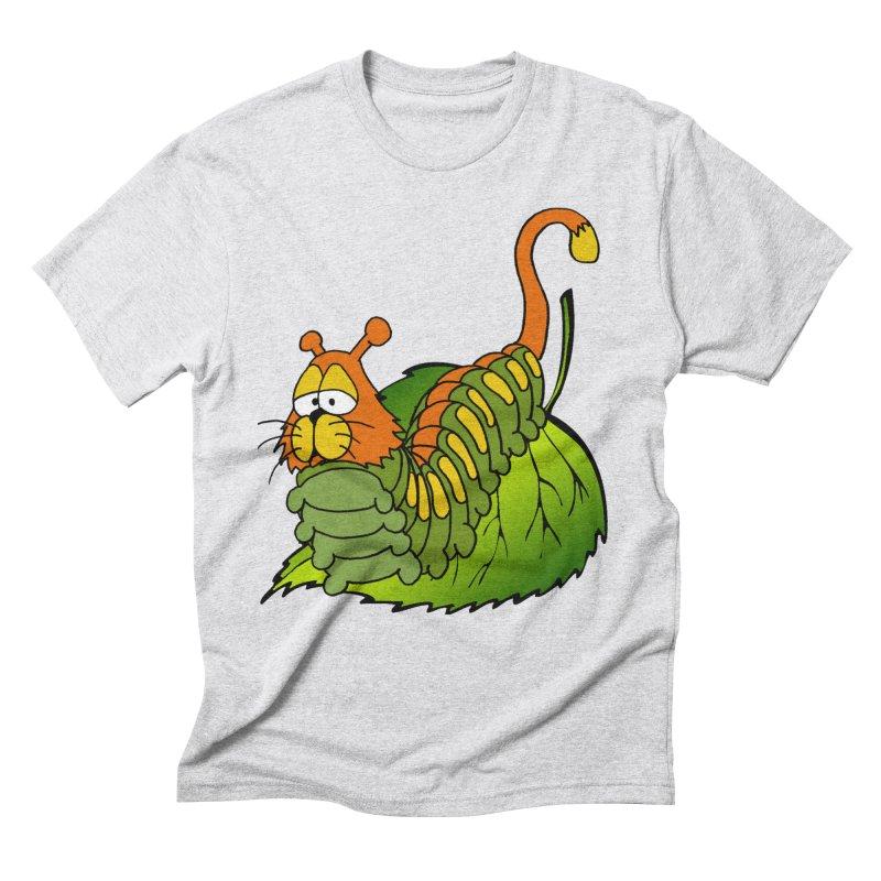Cat(erpillar) Men's Triblend T-shirt by pir's Artist Shop