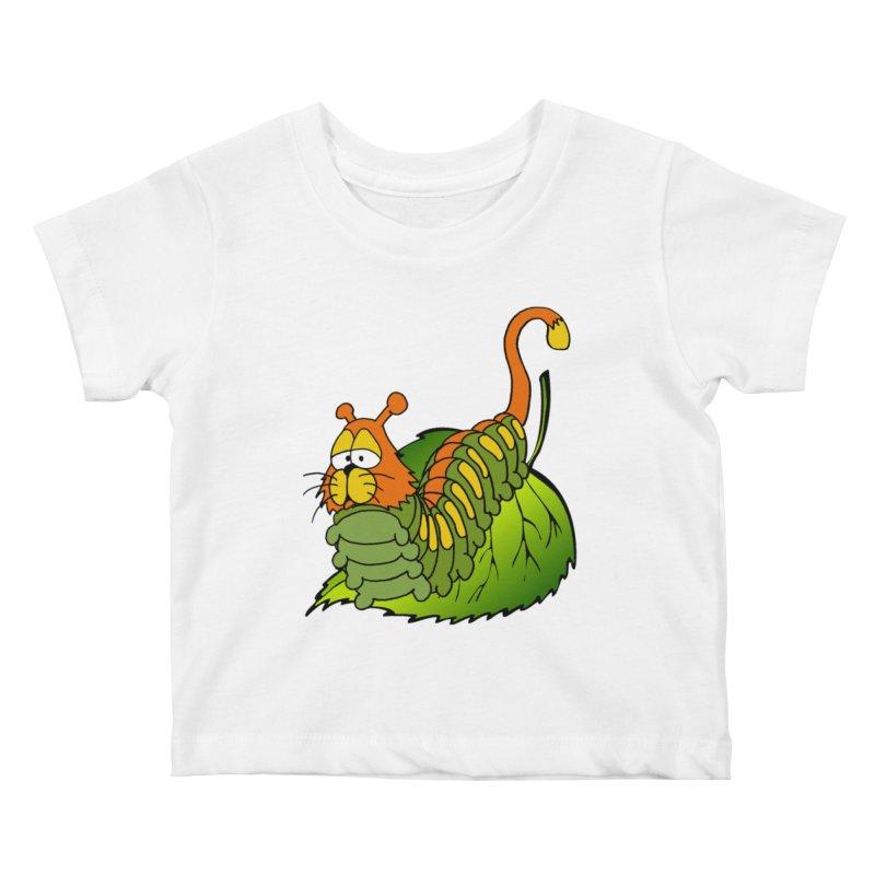 Cat(erpillar) Kids Baby T-Shirt by pir's Artist Shop