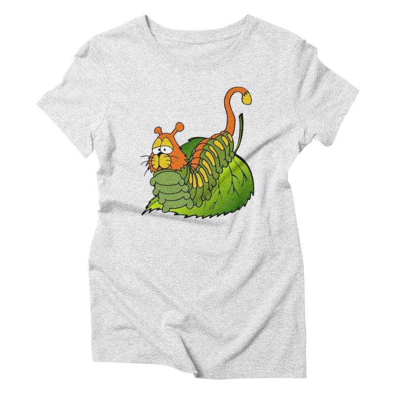 Cat(erpillar) Women's Triblend T-shirt by pir's Artist Shop