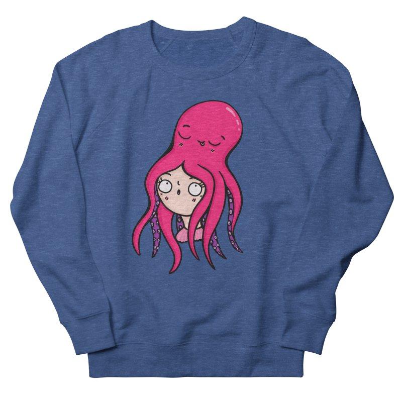 Octopus Surprise Women's Sweatshirt by Piratart Illustration