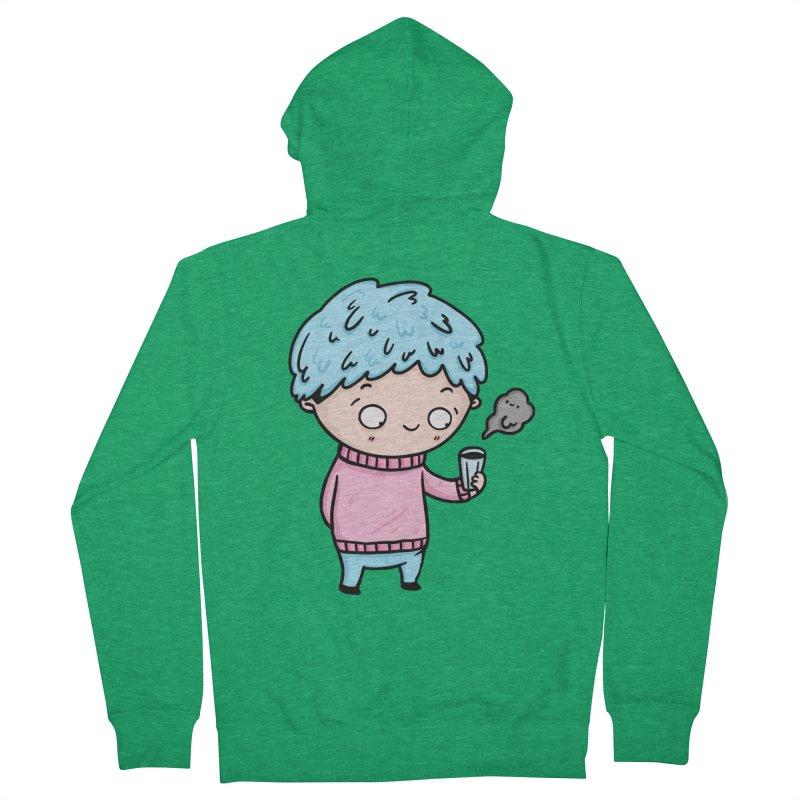 Tea Boy Women's Zip-Up Hoody by Piratart Illustration