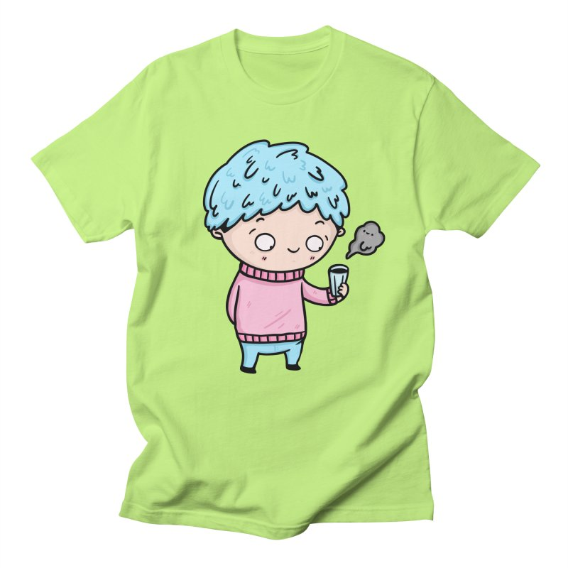 Tea Boy Men's Regular T-Shirt by Piratart Illustration