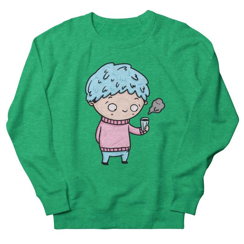 Tea Boy Women's Sweatshirt by Piratart Illustration