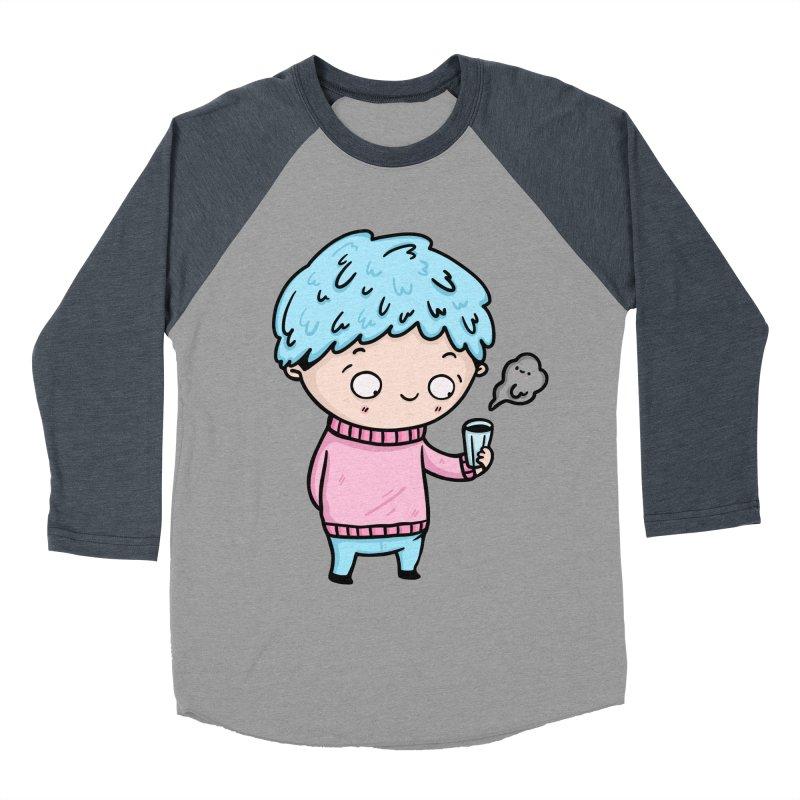 Tea Boy Women's Baseball Triblend Longsleeve T-Shirt by Piratart Illustration