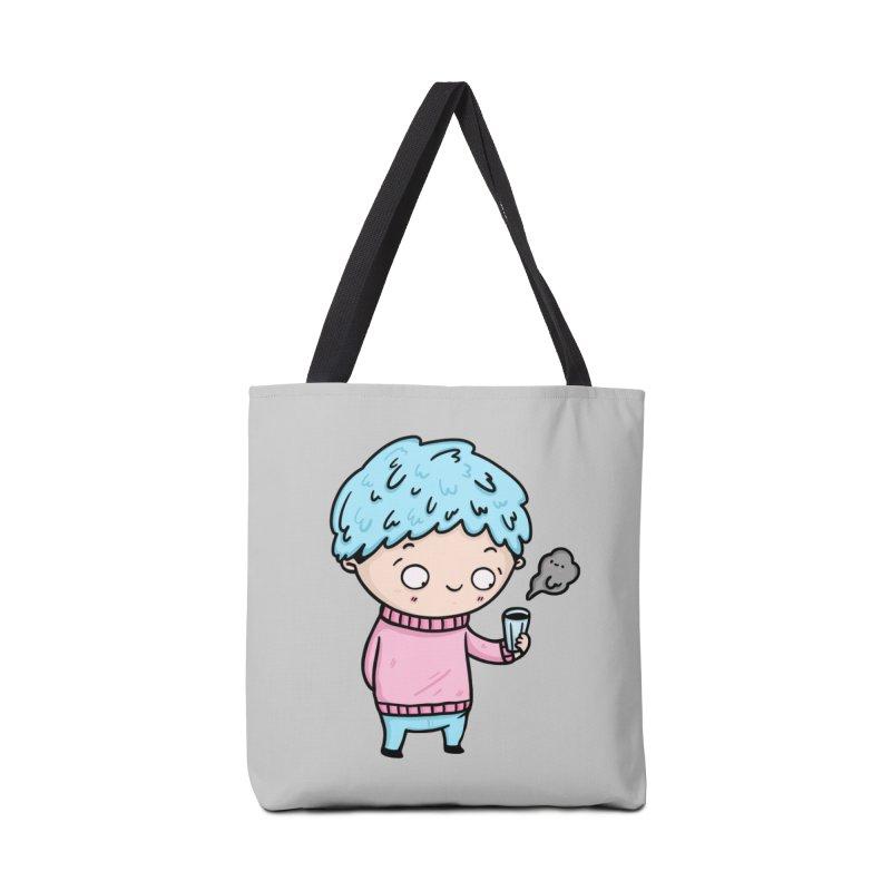 Tea Boy Accessories Bag by Piratart Illustration