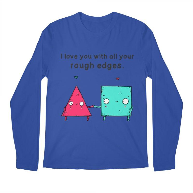 Rough Edges Men's Longsleeve T-Shirt by Piratart Illustration