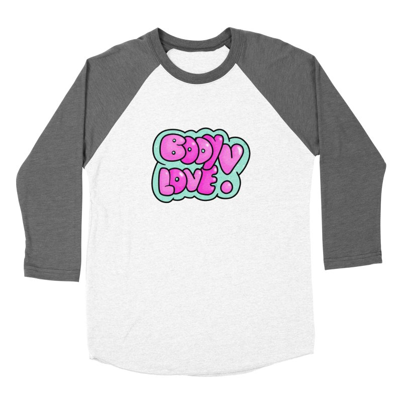 Body Love Women's Longsleeve T-Shirt by Piratart Illustration