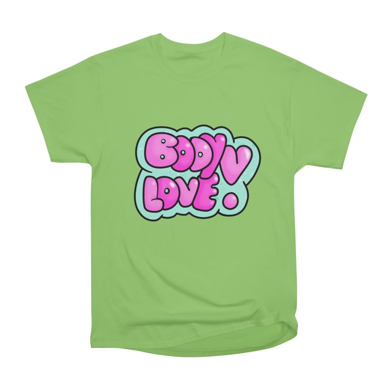 Body Love Men's Heavyweight T-Shirt by Piratart Illustration