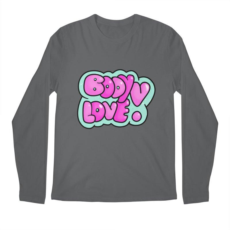Body Love Men's Longsleeve T-Shirt by Piratart Illustration