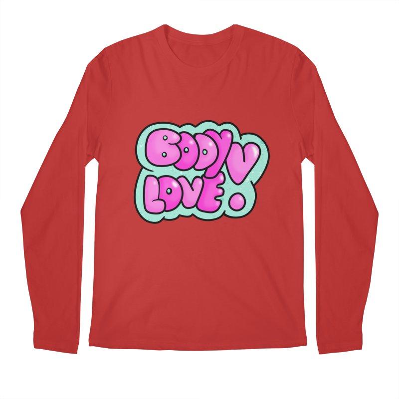 Body Love Men's Regular Longsleeve T-Shirt by Piratart Illustration