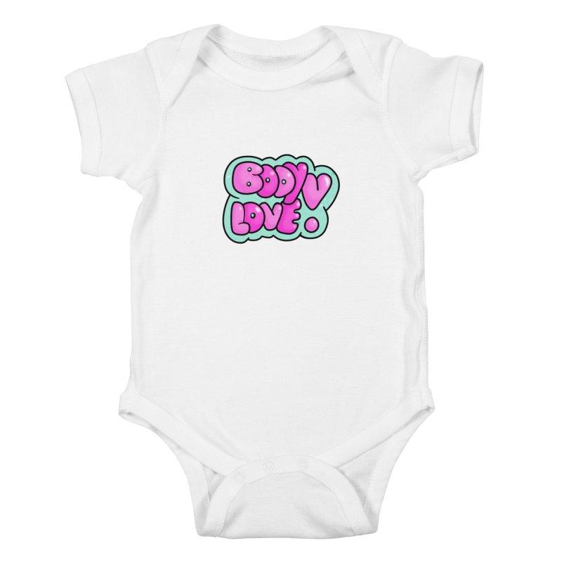 Body Love Kids Baby Bodysuit by Piratart Illustration
