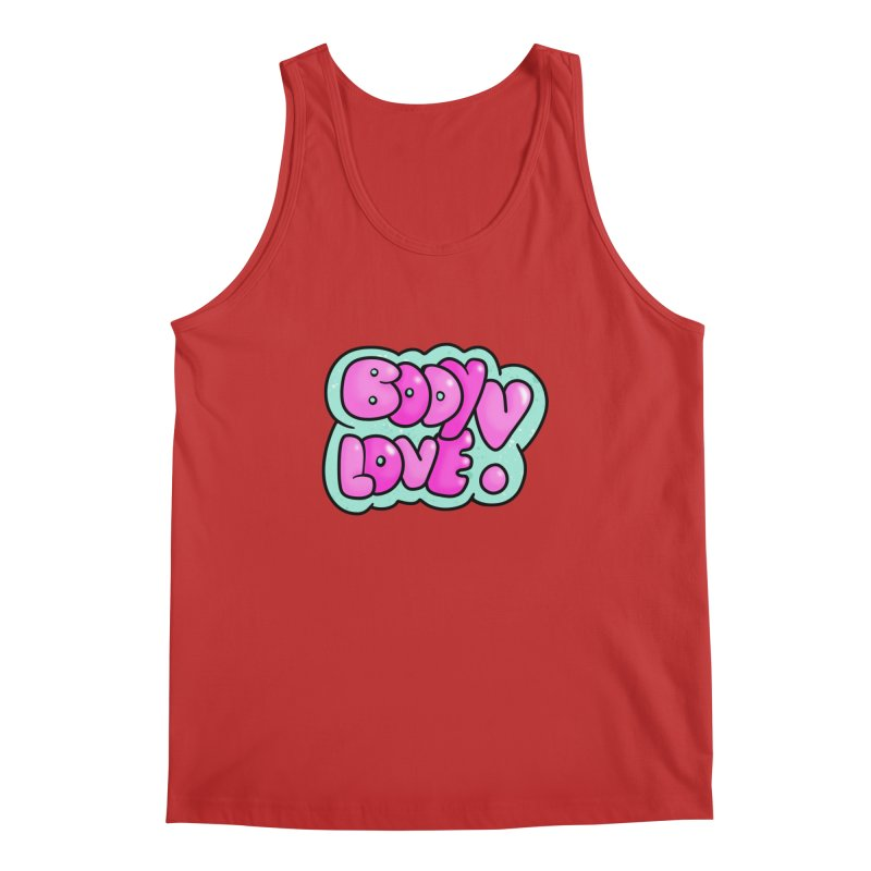 Body Love Men's Regular Tank by Piratart Illustration