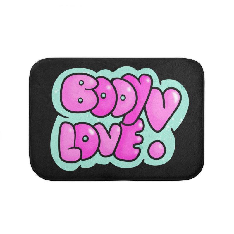 Body Love Home Bath Mat by Piratart Illustration