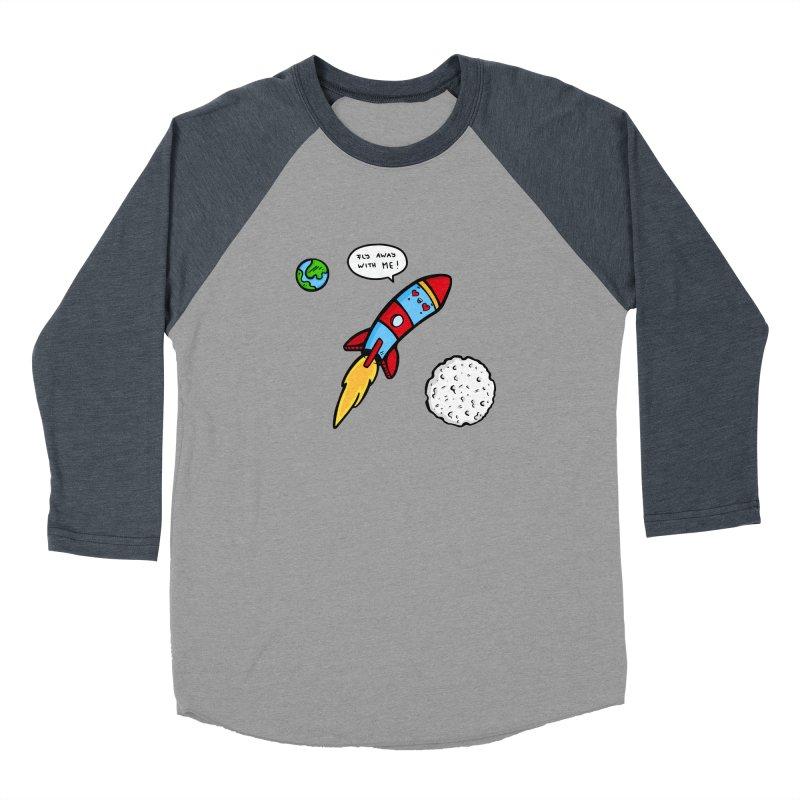 Fly Away Women's Longsleeve T-Shirt by Piratart Illustration