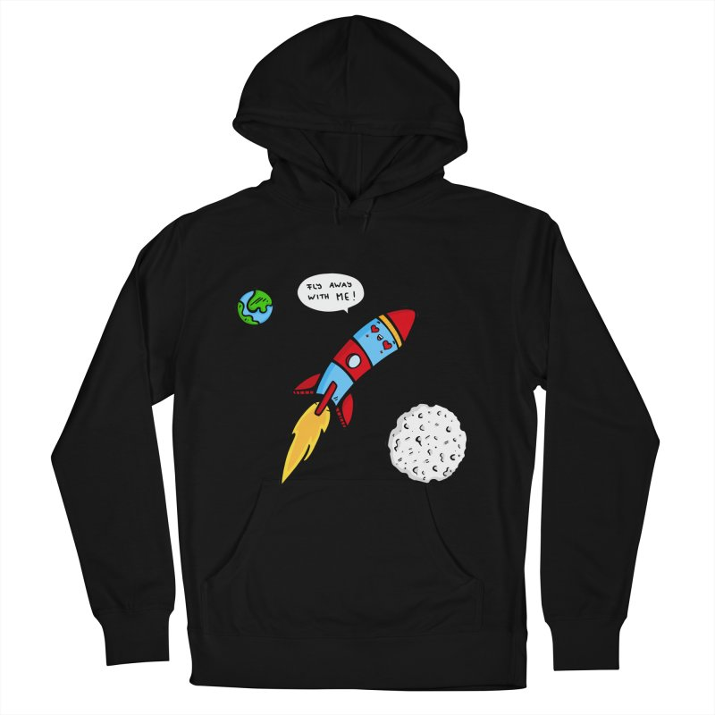Fly Away Women's Pullover Hoody by Piratart Illustration