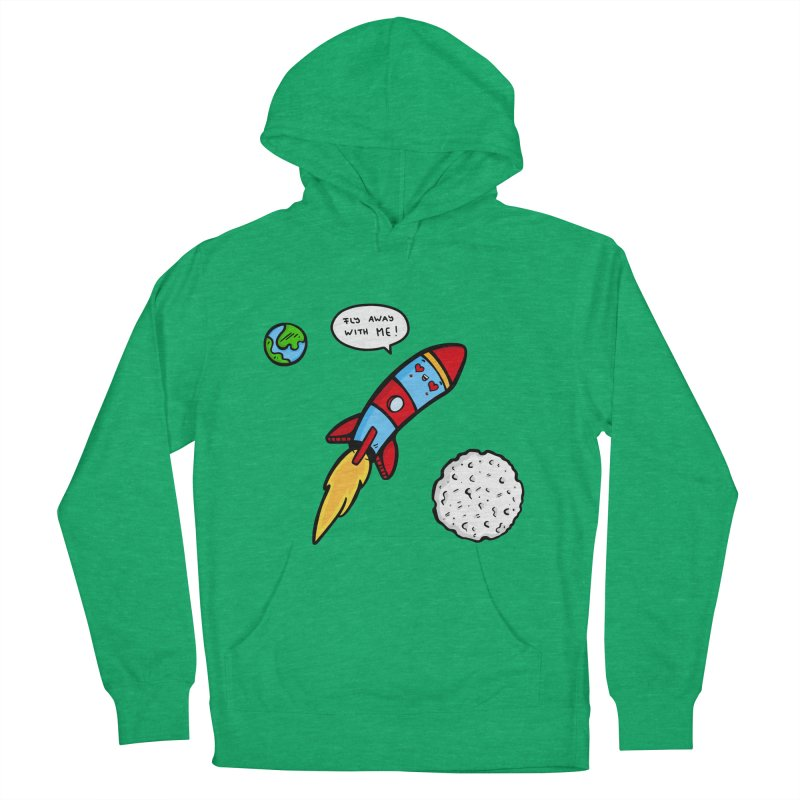 Fly Away Men's Pullover Hoody by Piratart Illustration