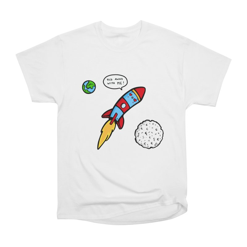 Fly Away Men's Classic T-Shirt by Piratart Illustration