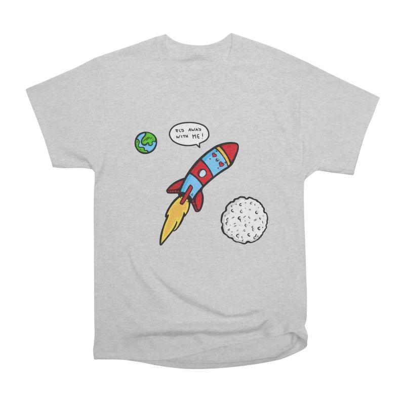 Fly Away Men's T-Shirt by Piratart Illustration
