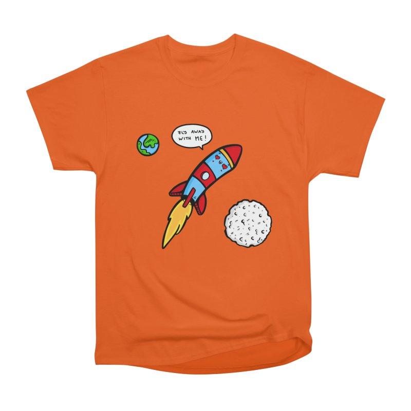 Fly Away Women's Classic Unisex T-Shirt by Piratart Illustration