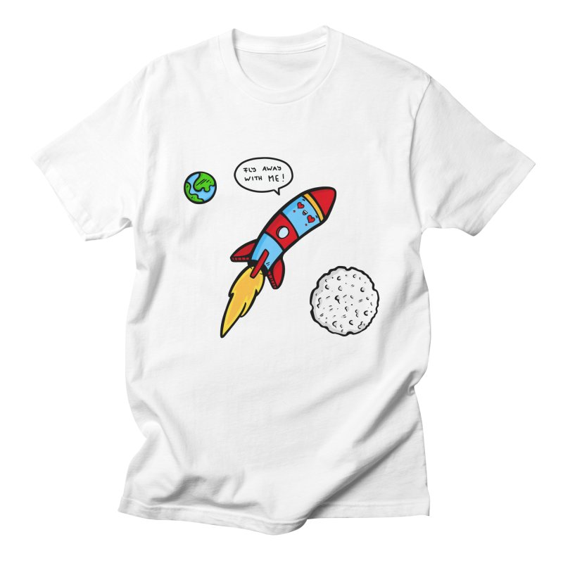 Fly Away Men's T-Shirt by Piratart Illustration