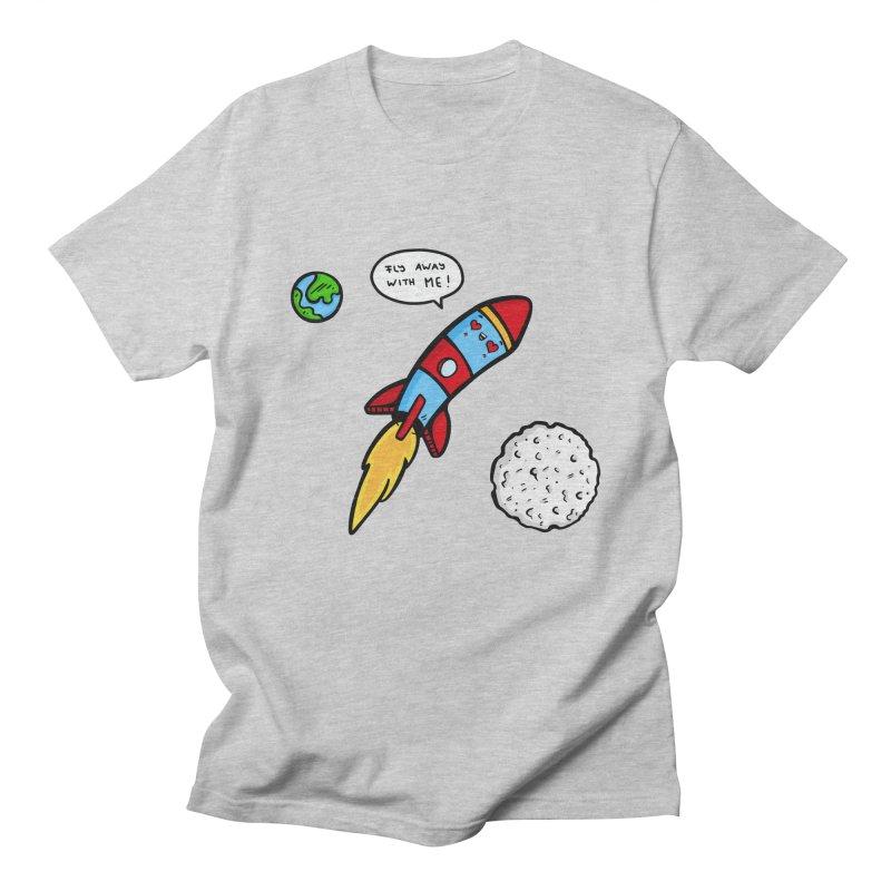Fly Away Women's Regular Unisex T-Shirt by Piratart Illustration