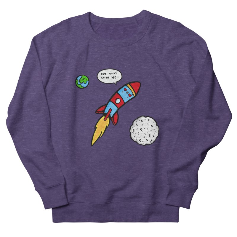 Fly Away Women's Sweatshirt by Piratart Illustration
