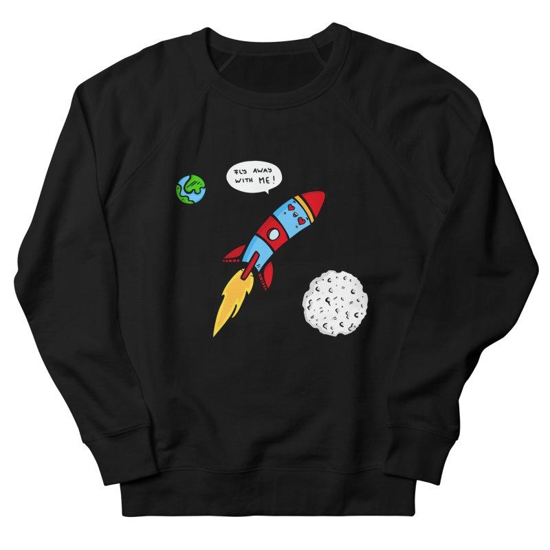 Fly Away Women's Sweatshirt by Piratart Illustration